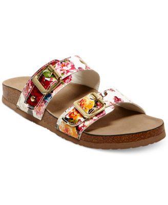ad613b16b29154 Madden Girl Brando Footbed Sandals - Juniors  Brands - Juniors - Macy s