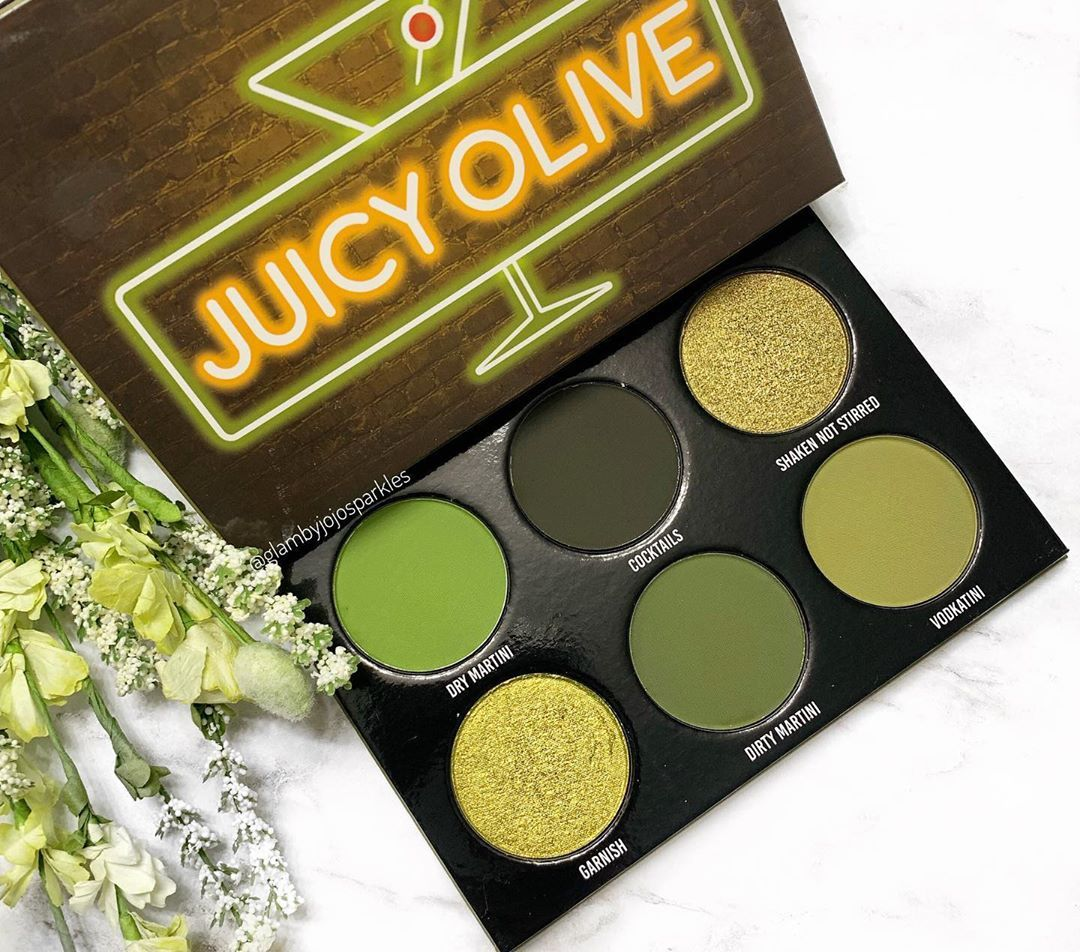 Hello Beauties Look At The Stunning Juicy Olive Palette By Givemeglowcosmetics This Retails For Indie Makeup Brands Favorite Makeup Products Indie Makeup