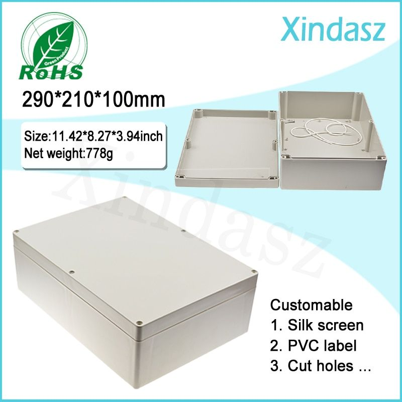 290*210*100mm Plastic electrical enclosure distribution box