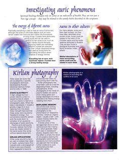 Divination: Investigating #Auric #Phenomena.
