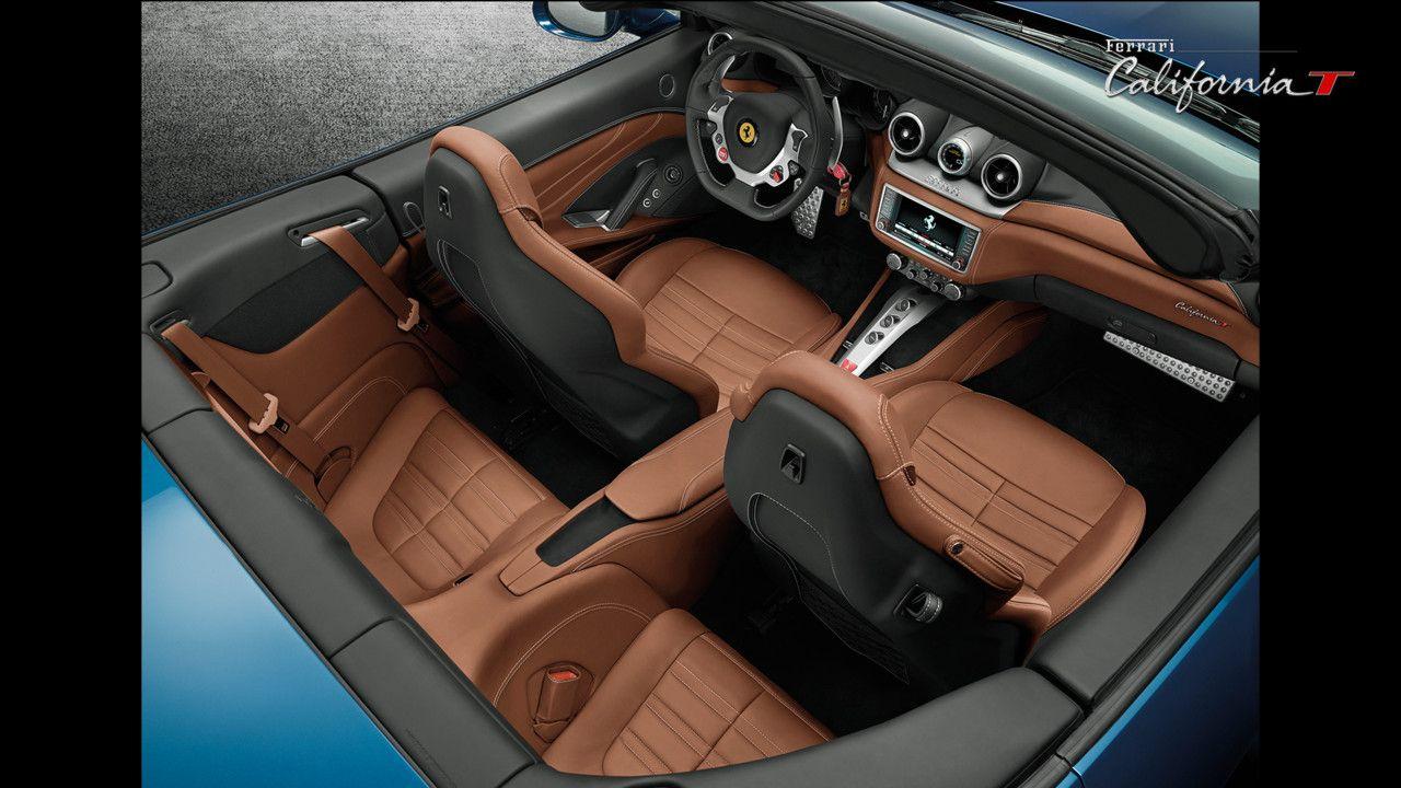 Un intérieur orné des plus belles matières pour rendre la Ferrari ...