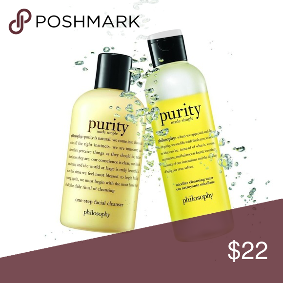 Set Philosophy Purity Made Simple Micellar Water Purity Made Simple Simple Micellar Water Simple Cleanser