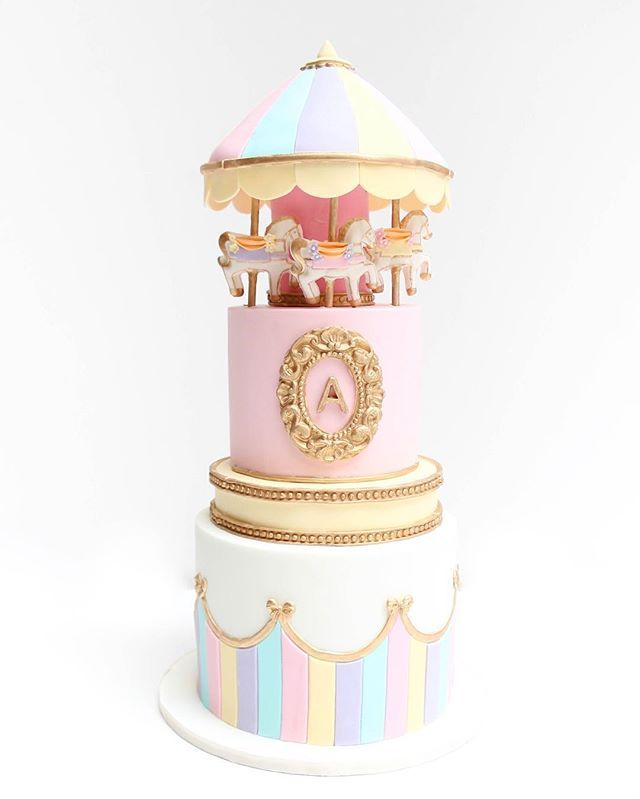 Another Version Of My Carousel Cake