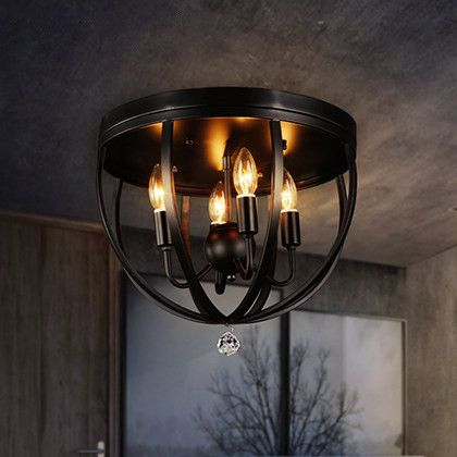 American style vintage bar light fixture loft industrial ceiling american style vintage bar light fixture loft industrial ceiling luminaire stairs balcony iron ceiling lights aloadofball Image collections
