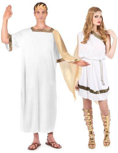 171491453 Disfraz de pareja de romanos in 2019   Patrones   Disfraces parejas ...