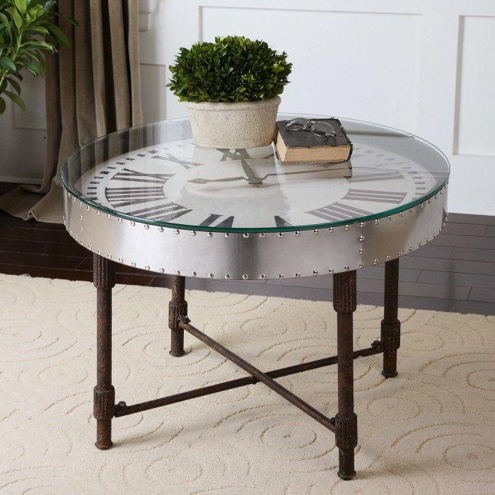 Ikea Coffee Table Millennium Falcon: Cassem Industrial Riveted Aluminum