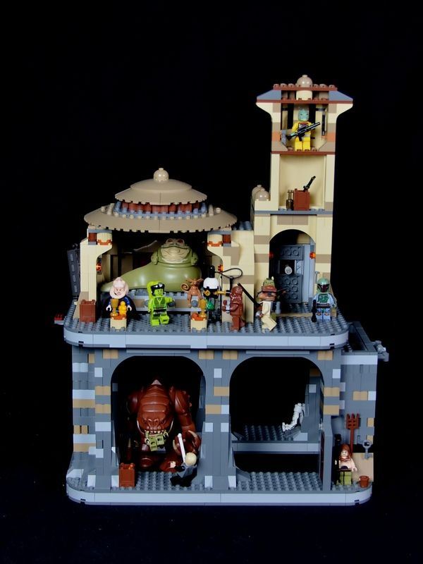 A great redesign of the Rancor dungeon. It uses two kits to create a ...