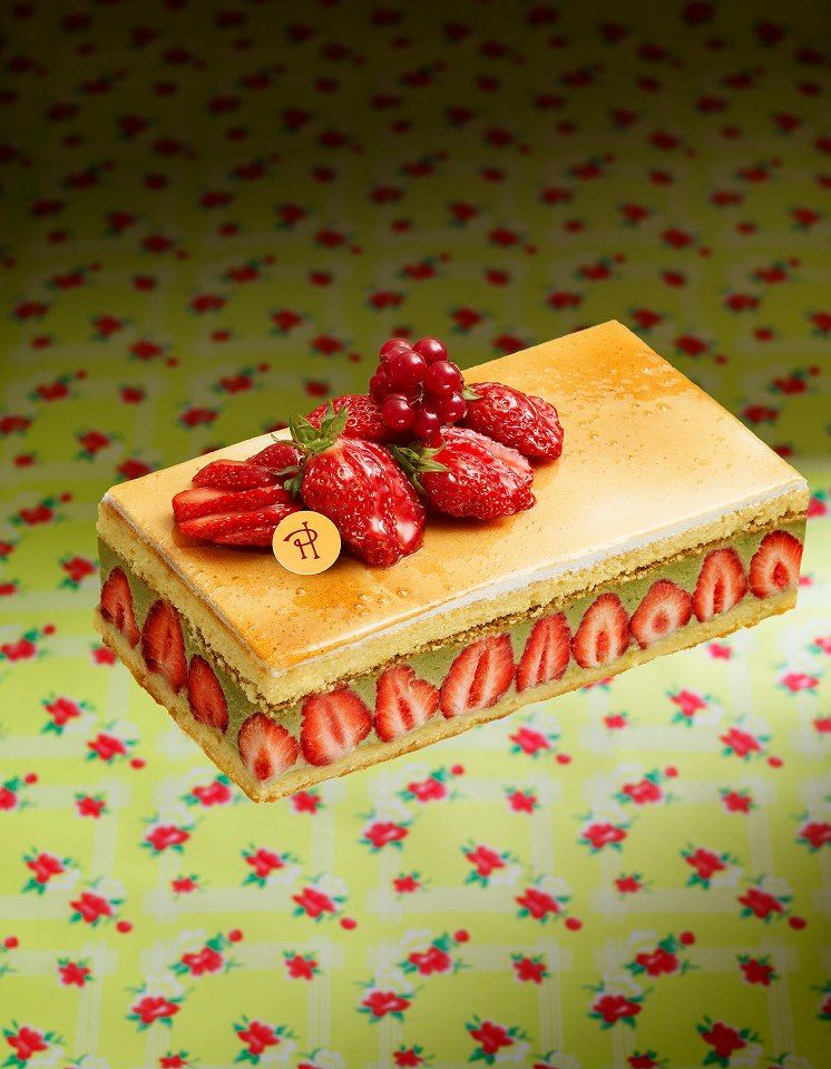 Fraisier Almond Sponge Cake Moistened With Raspberry Liqueur Pistachio Mousseline Cream Strawberries P Fancy Desserts Recipes Desserts Strawberry Recipes