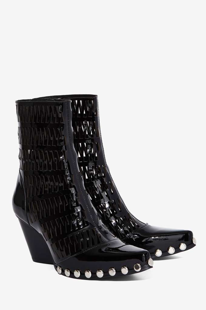 03c5f22d9f81c Jeffrey Campbell Walton Patent Leather Boot - Shoes