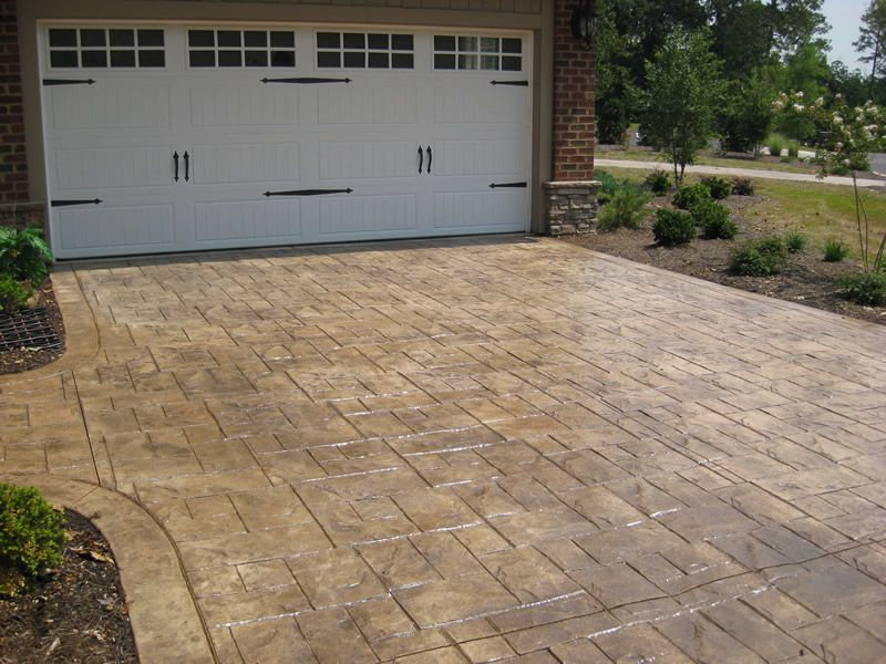 Stamped Concreted Images Stamped Concrete Gallery Yard