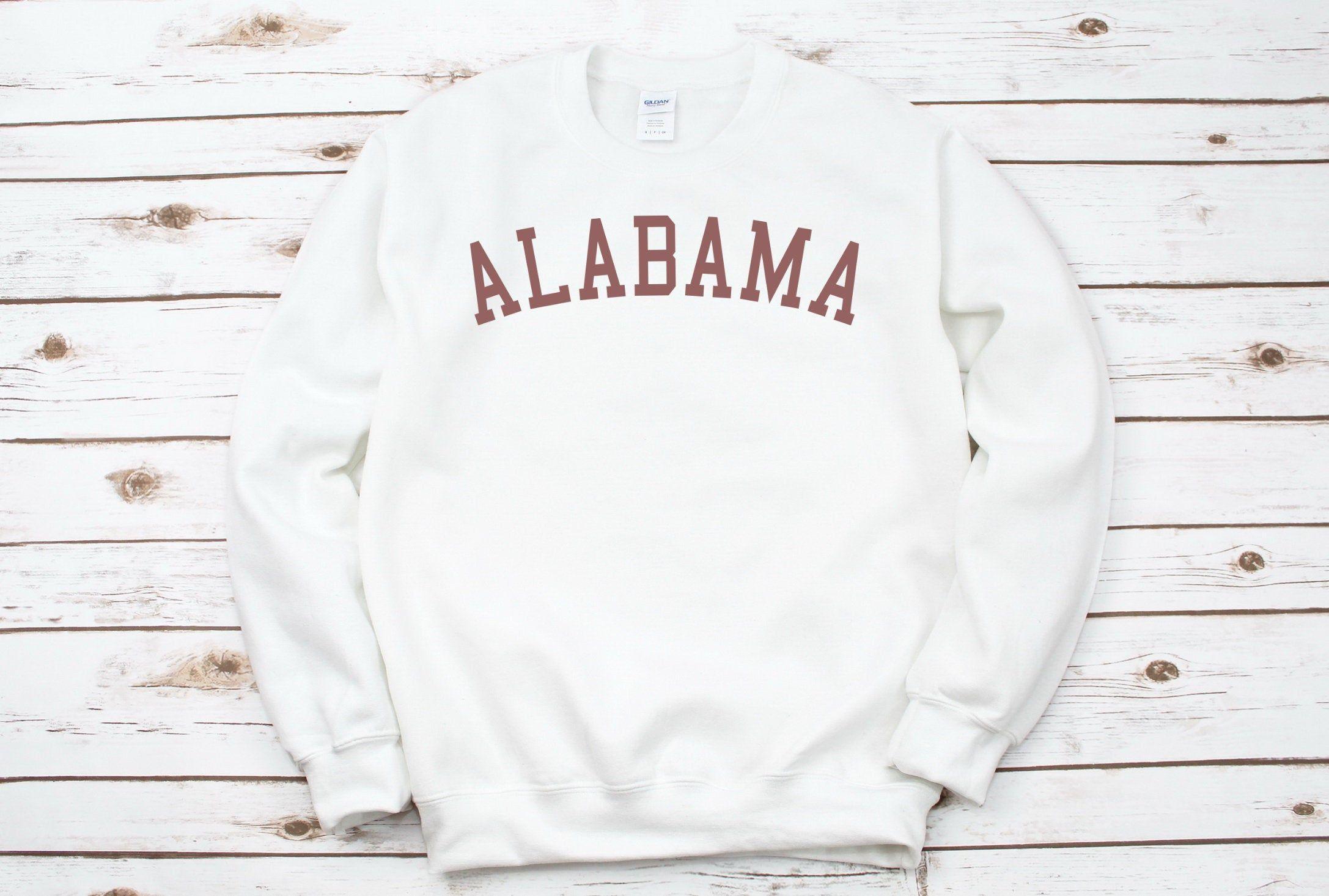 Alabama Sweatshirt Alabama Crewneck Sweatshirt Alabama Etsy Vintage Crewneck Sweatshirt Sweatshirts Crew Neck Sweatshirt [ 1466 x 2174 Pixel ]