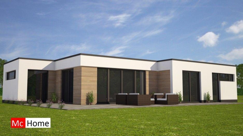 Modere bungalow gelijkvloers levensloopbestenidg bouwen for Moderne semi bungalow bouwen