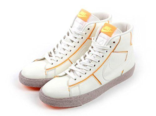 new style 00055 0fd56 Nike Blazer Mid Cut Out Premium Womens Shoes Sailatomic Mangomedium Orewood  Brown 644407100 Sz 12     Details can be found by clicking on the image.