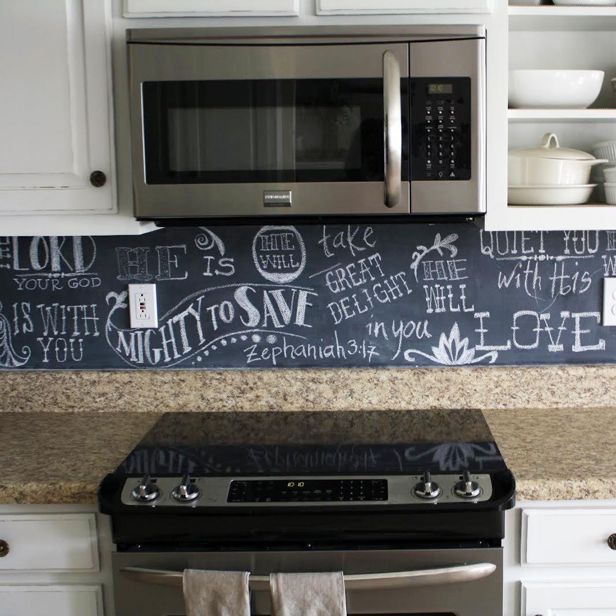 12 Awesome Backsplashes That Aren T Tile Kitchen Backsplash Trends