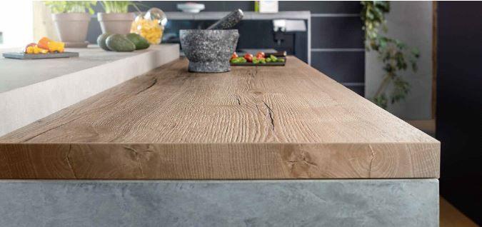 egger h1180 natural halifax oak 38mm bench top has. Black Bedroom Furniture Sets. Home Design Ideas