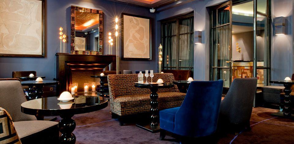 Restaurant bar le baudelaire at the burgundy hotel 6 8 for Hotel design paris 8