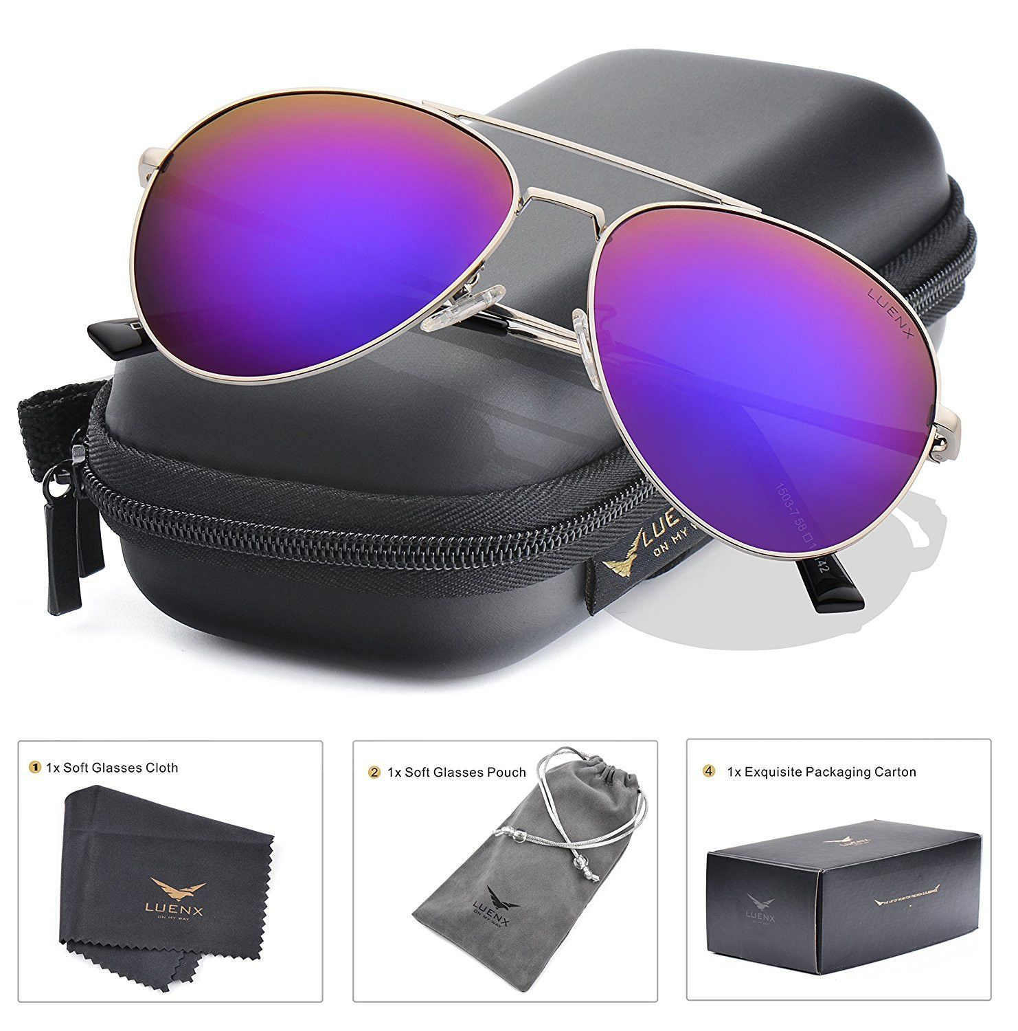 ray ban sonnenbrille aviator l uv400 polarized