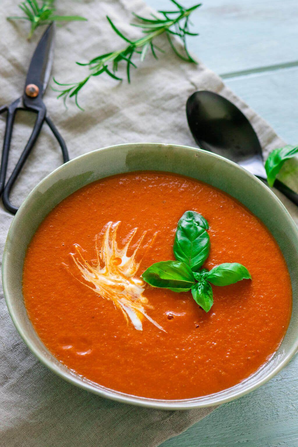Diese Tomatensuppe ist für dich genau das Richtige, wenn du damit klar kommst, …