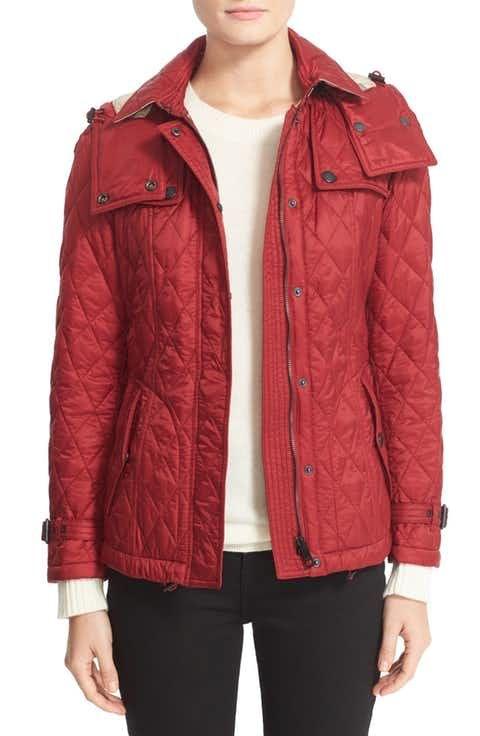 Burberry Finsbridge Short Quilted Jacket Quilted Jacket Jackets Women S Coats Jackets