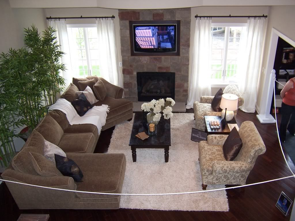 2 story living room decorating ideas | Parade of Homes–Fabulous 2 ...