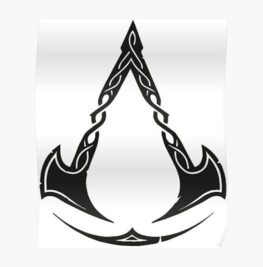 Assassin's Creed Valhalla Logo | Tatuagens viking, Viking, Tatuagens