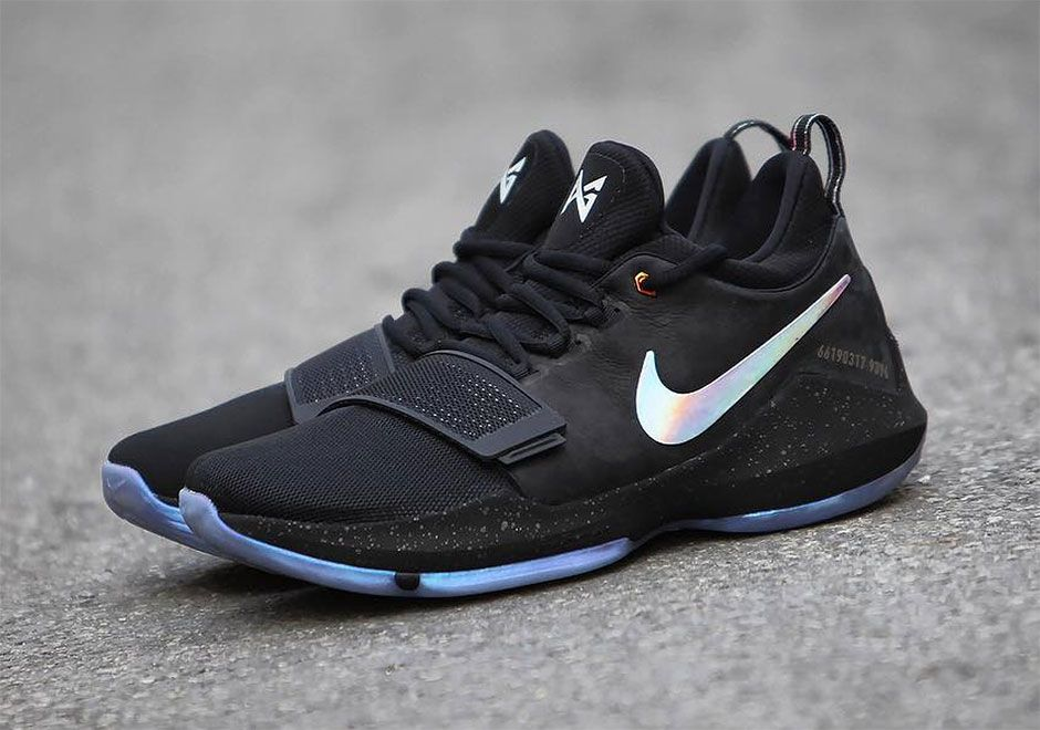 brand new 0fe7a 1ff43 ... Paul George signature Nike PG 1 model gets two detailed looks in the  coming PG 1 ...