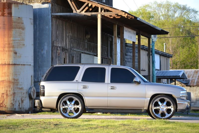Wanting To Put 24 S On My 99 Tahoe 2wd And Lower It Need Help