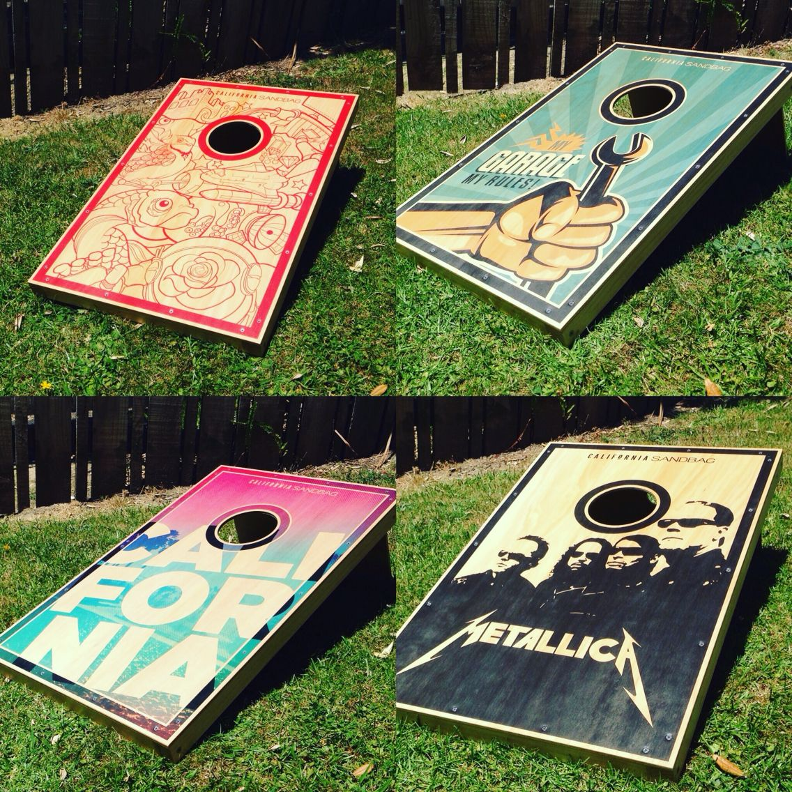 Groovy Custom Board California Sandbag New Zealand Corn Hole Pdpeps Interior Chair Design Pdpepsorg