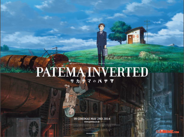 Top 12 Anime Films (Ghibli Excluded) Anime films, Patema