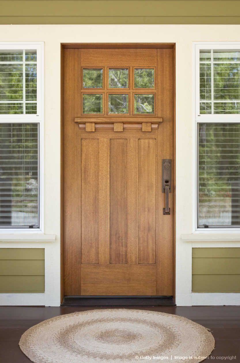 Front Exterior Of Craftsman Style Home Doors Interior Homes