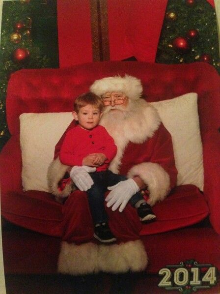 Ollie at Christmas 2014.