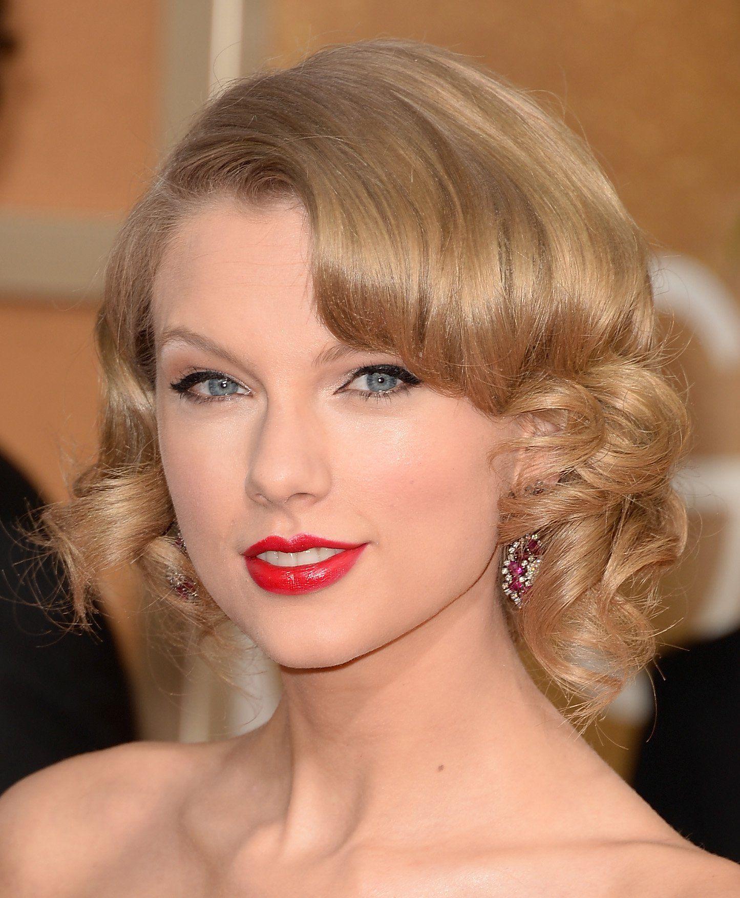 Wedding Hairstyles Up 'dos Taylor swift hair, Hair