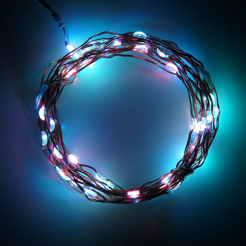 3M 30 LEDS Decoration LED Copper Wire Fairy String Lights Lamps for ...
