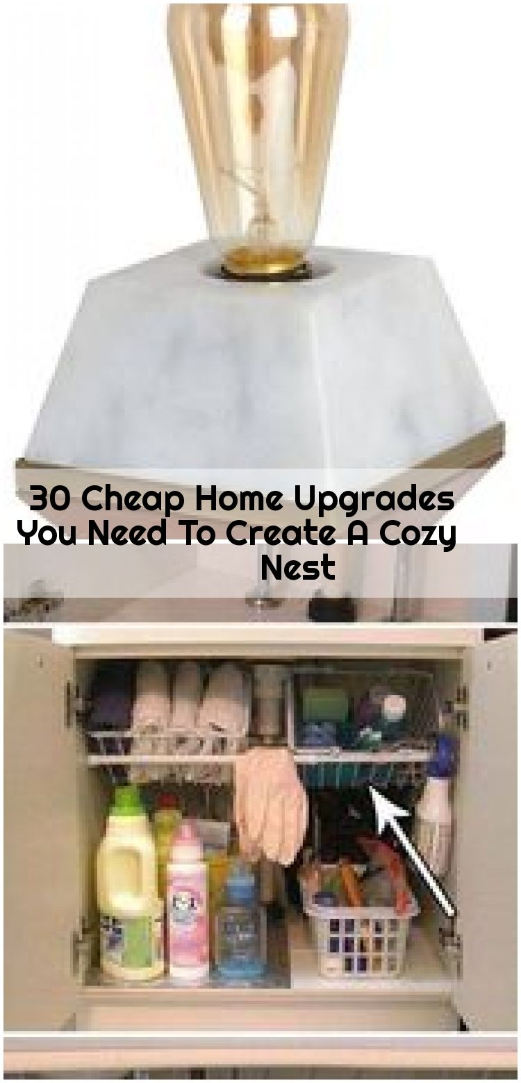 30 Cheap Home Upgrades You Need To Create A Cozy Nest , These Cheap Must-Haves Will Change Your Life #refinery29 www.refinery29.co...... ,  #Cheap #Cozy #Create #Home #Nest #Upgrades