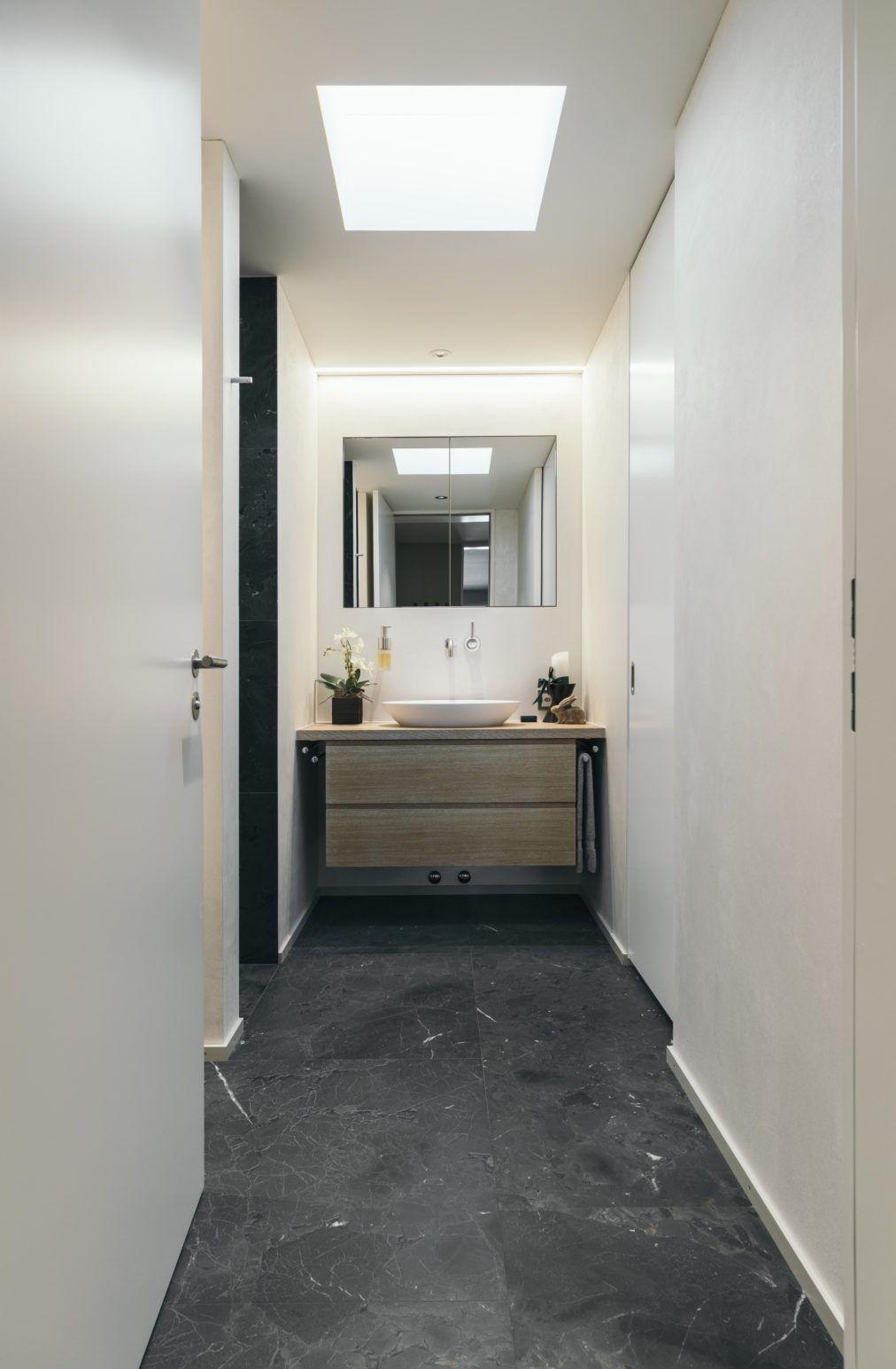 Im Gästebereich wurde der selbe Bodenbelag verwendet wie im ...