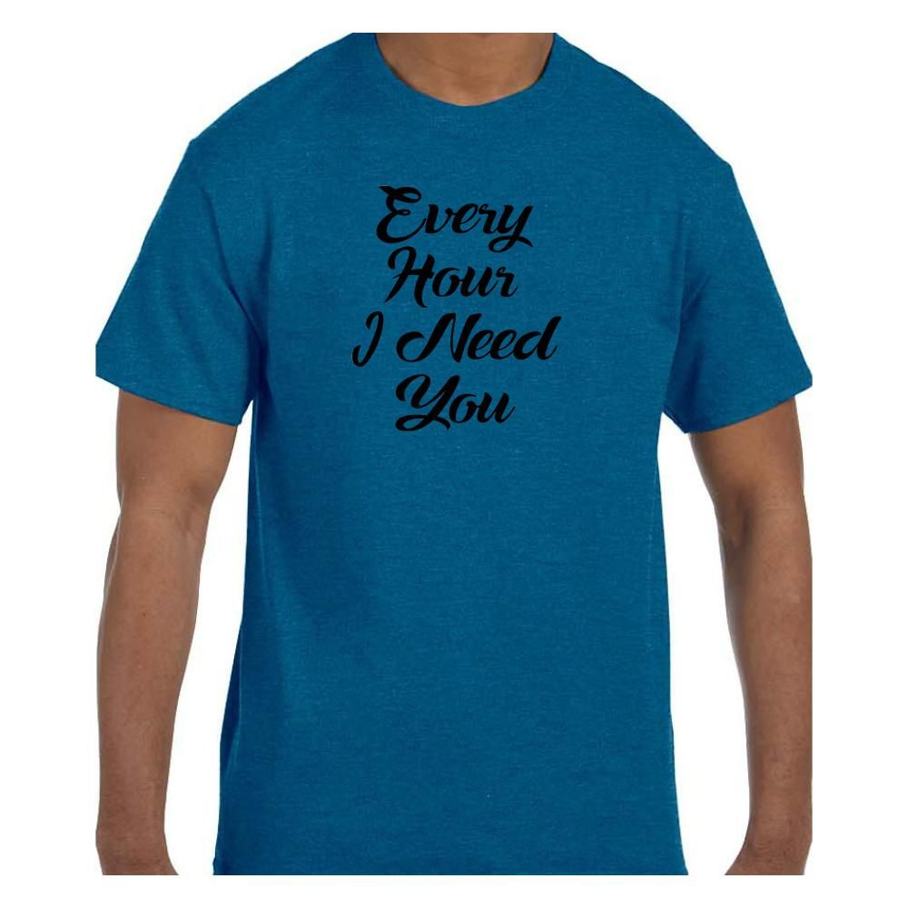 Christian Religious Jesus Faith Tshirt Every Hour I Need You model xx50291