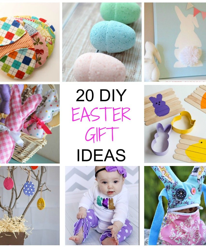 20 non chocolate diy easter gifts easter gift and easter bunny 20 non chocolate diy easter gifts negle Choice Image