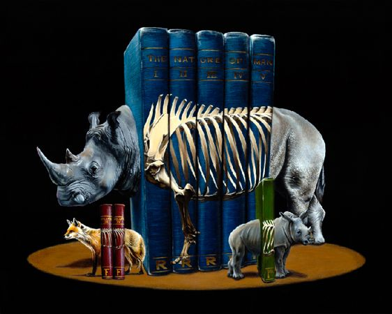 This Is Not A Pet - Surreal Animal Art Of Jacub Gagnon - Spineless
