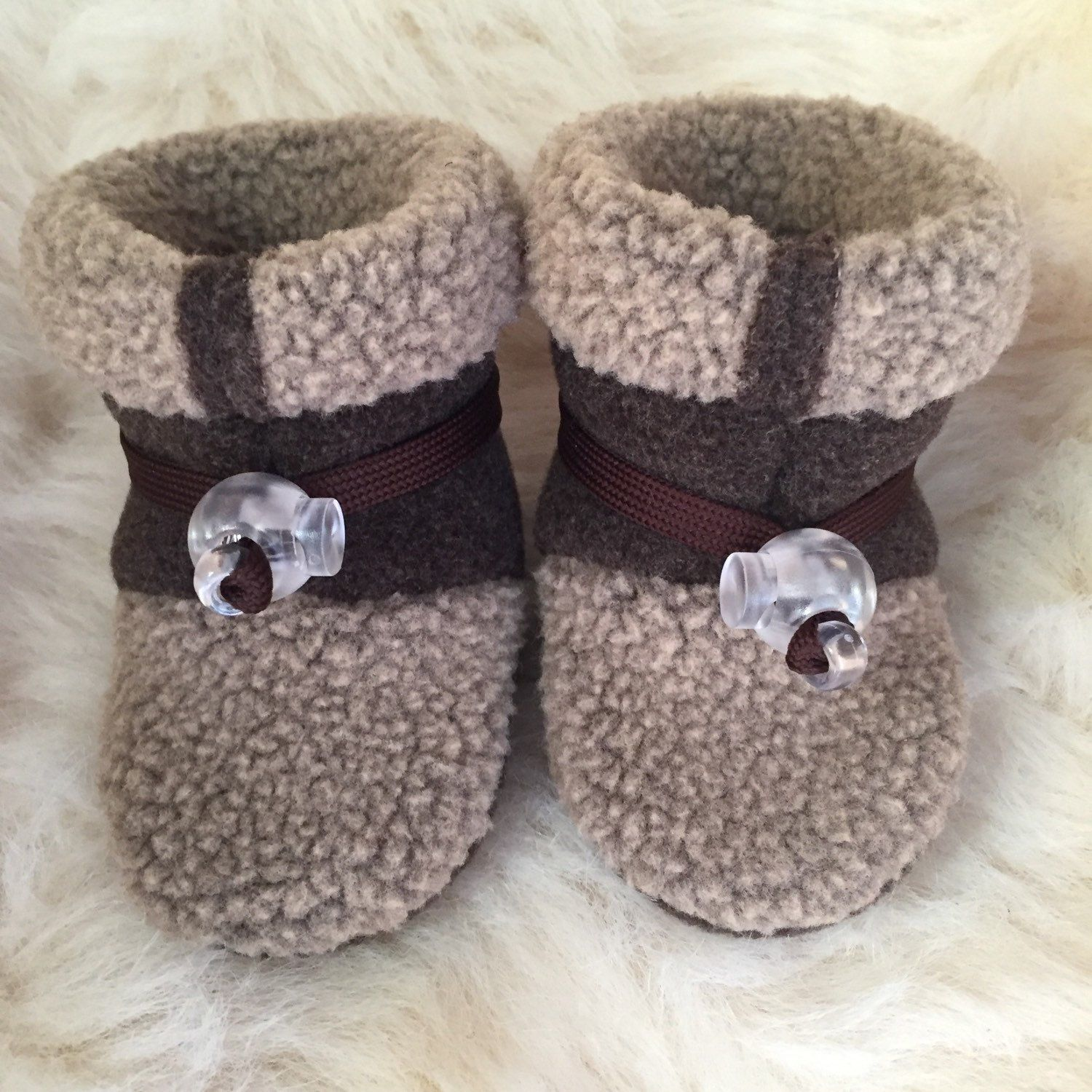 Crib shoes baby Boy or baby girl booties soft sole shoes from