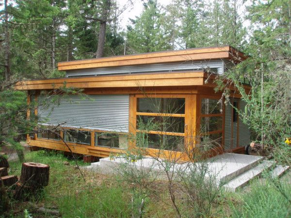 12 Metal Clad Contemporary Homes Painting Studio