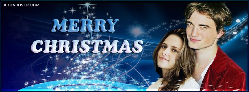 Twilight Christmas Facebook Covers, Twilight Christmas FB Covers, Twilight Christmas Facebook Timeline Covers, Twilight Christmas Facebook Cover Images