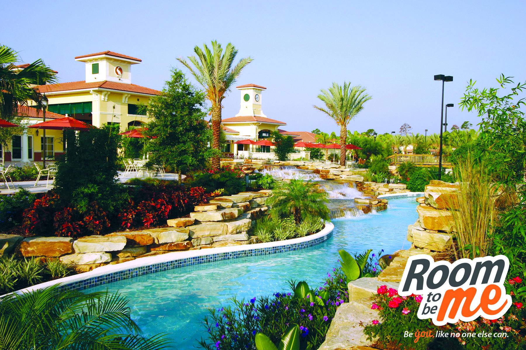 The Lazy River at Holiday Inn Club Vacations at Orange