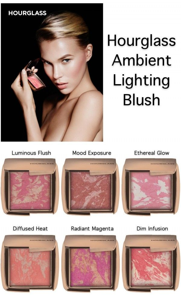 Hourglass Ambient Lighting Blush   Info and Images of a Release That Has Me Trembling In Anticipation