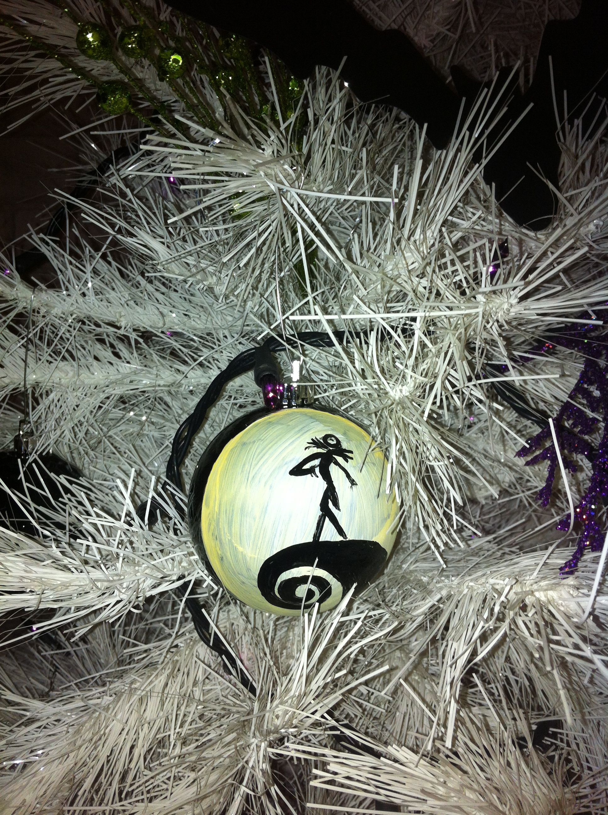 handmade ornament nightmare before christmas made by kelli clayton - How Was The Nightmare Before Christmas Made