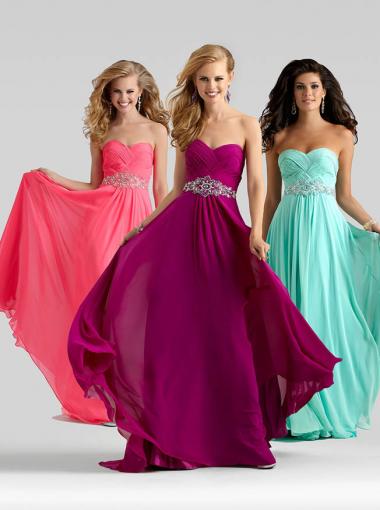 Blue Formal Dress Evening Dress/ Prom Dress 2015 Clarisse 1015