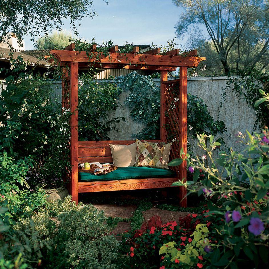 garden arbor bench backyard and garden arbours