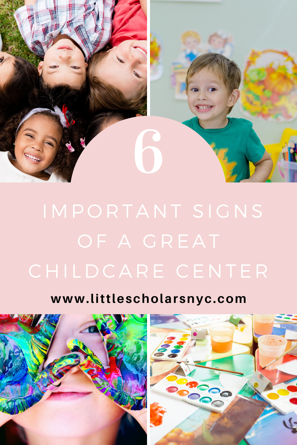 6 Important Signs Of A Great Childcare Center Childcare Center Childcare Childhood Education