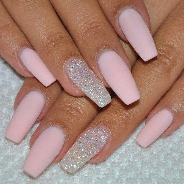 Acrylnagel 2018 Trends Acrylnagel 2018 Trends Gelnagel Ombre Nagel Nails Nail Nailart Matte Pink Nails Acrylic Nails Coffin Short Pink Acrylic Nails