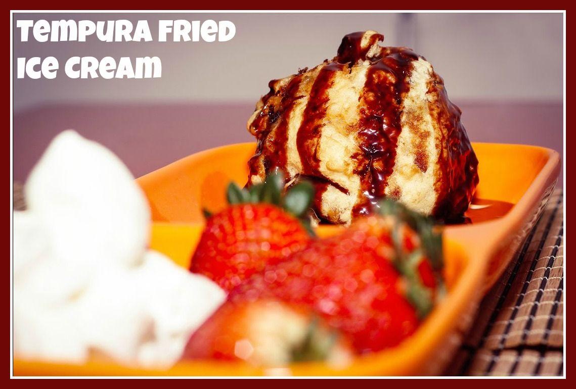 This tempura fried ice cream is easier to make at home than it this tempura fried ice cream is easier to make at home than it looks serve ccuart Choice Image