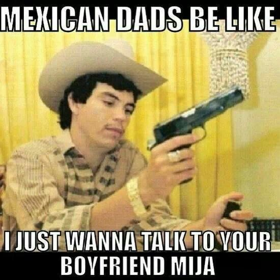 I Can T Tell You How Much My Dad Threatened All My Past Bfs Especially My Hubby Memes Mexicanos Divertidos Memes Espanol Graciosos Humor En Espanol